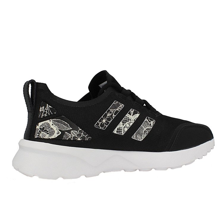 huge discount ac0ff c12d0 spain adidas zx flux womens black and gold sale online for ...