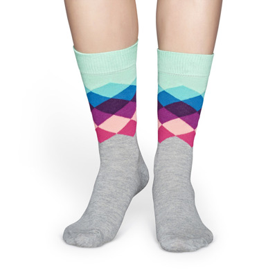 Happy Socks Faded Diamond