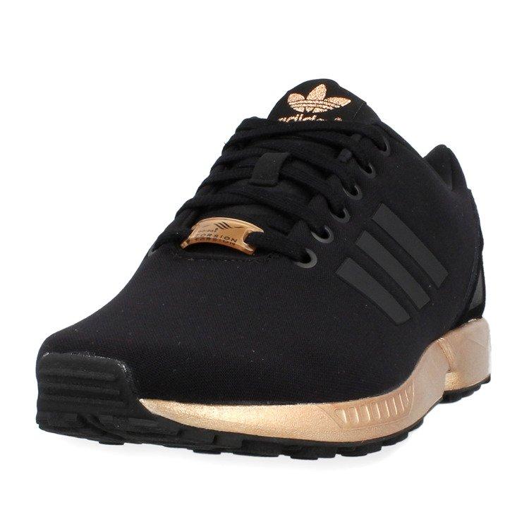 adidas zx flux damskie czarno złote olx