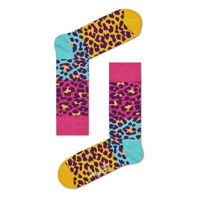 Skarpetki Happy Socks Block Leopard